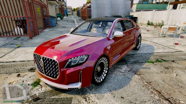 Mercedes Maybach Emperor (Add-On) v2.0