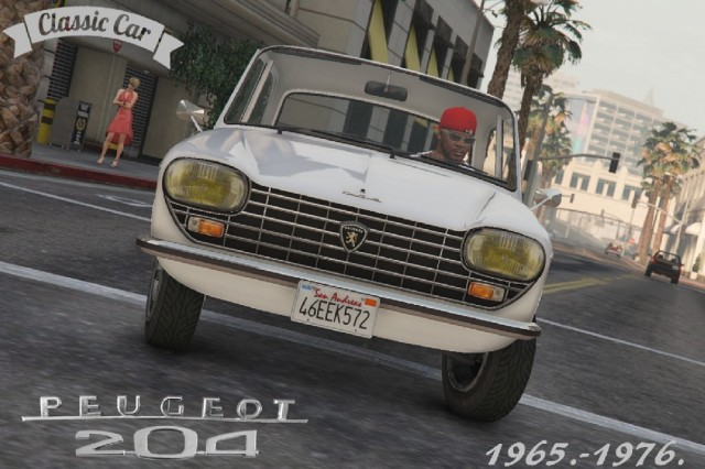 Peugeot 204 (Add-On/Replace) v1.0