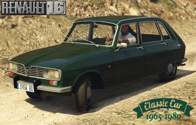 Renault 16 (Add-On/Replace) v1.1