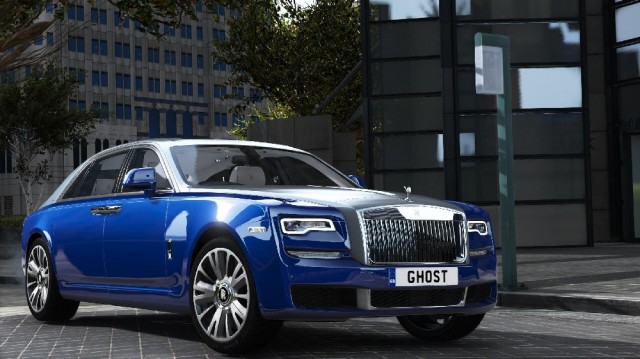 Rolls-Royce Ghost 2018 (Add-On) v1.01