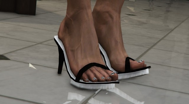Single strap high heels MP v1.0