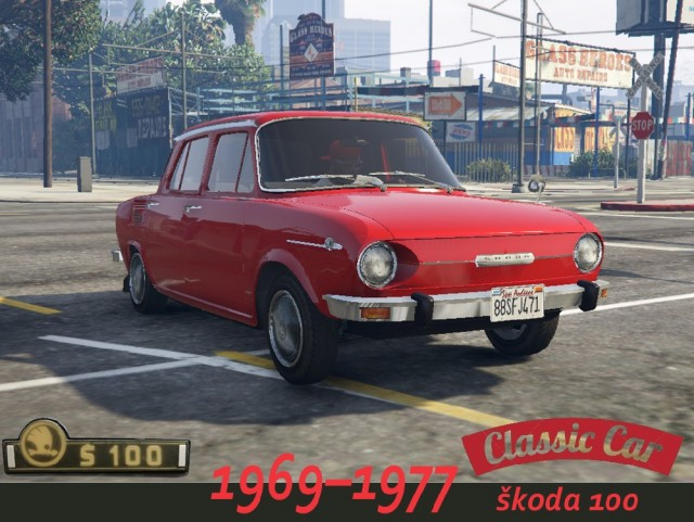 Skoda 100 (Add-On/Replace) v1.0
