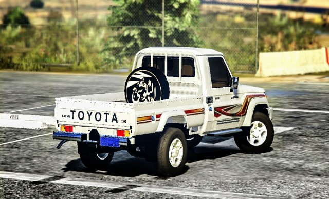 Toyota Land Cruiser Pickup 2018 v3.08