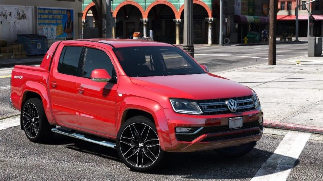 Volkswagen Amarok V6 2018 (Add-On/Replace) v1.0