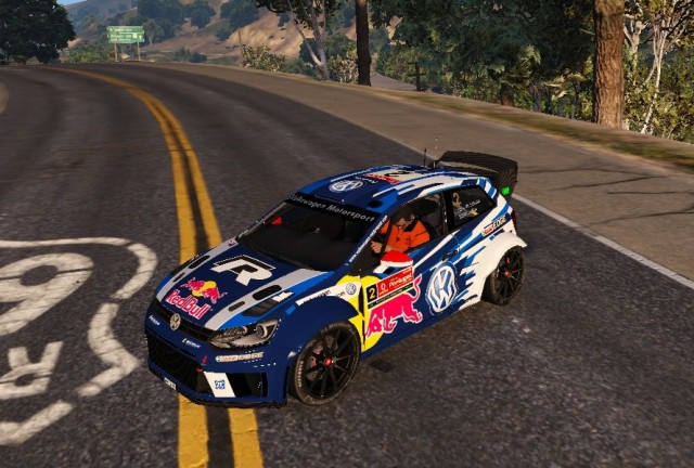 Volkswagen Polo R WRC Livery