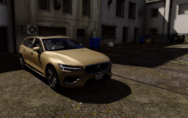 Volvo V60 2018 (Add-On/Replace) v1.1