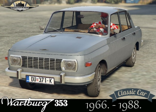 Wartburg 353 (Add-On/Replace) v1.0