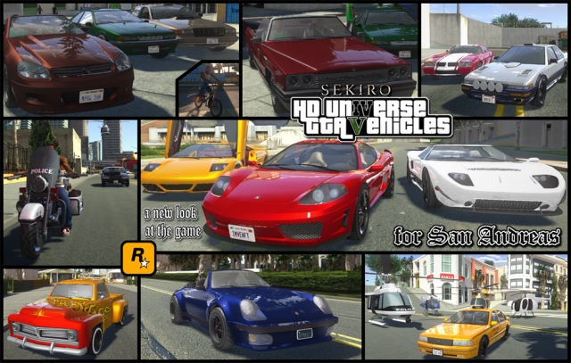 HD Universe GTA Vehicles [Update 5]