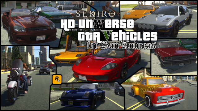 HD Universe GTA Vehicles [updated]