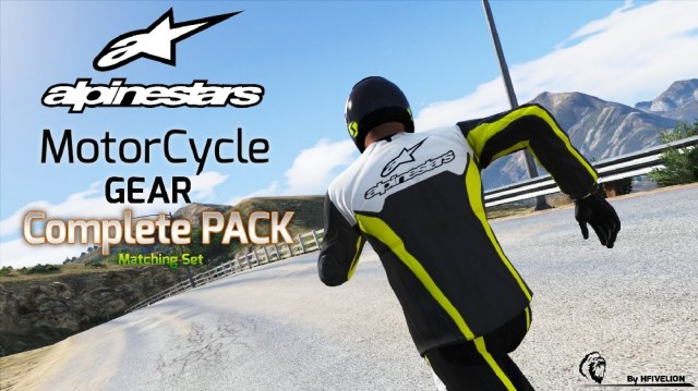Alpinestars Moto Gear Complete Outfit