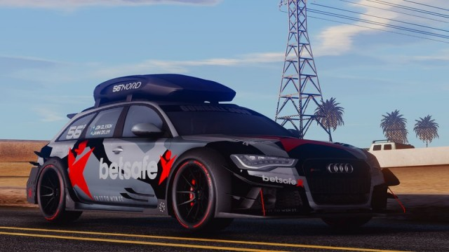 Audi RS6 DTM Gumball 3000 2015