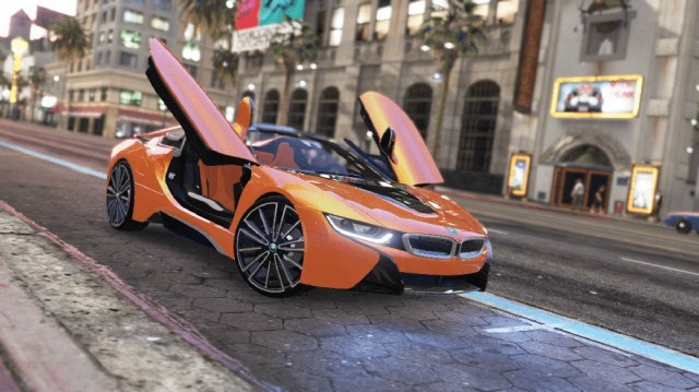 BMW i8 Roadster 2019 (Add-On/Replace) v1.1