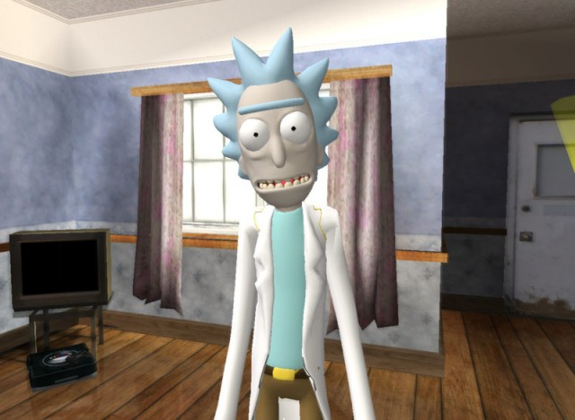 Rick Sanchez (Rick and Morty: Virtual Rick-Ality)