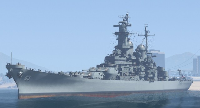 USS Missouri - BB-63 (Add-On)