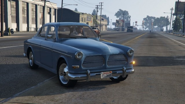 Volvo Amazon - P120 (Replace/Add-On)