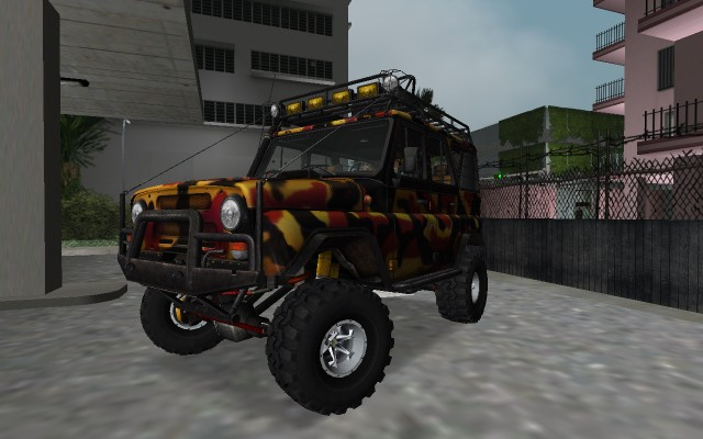 UAZ 31514 Expedition